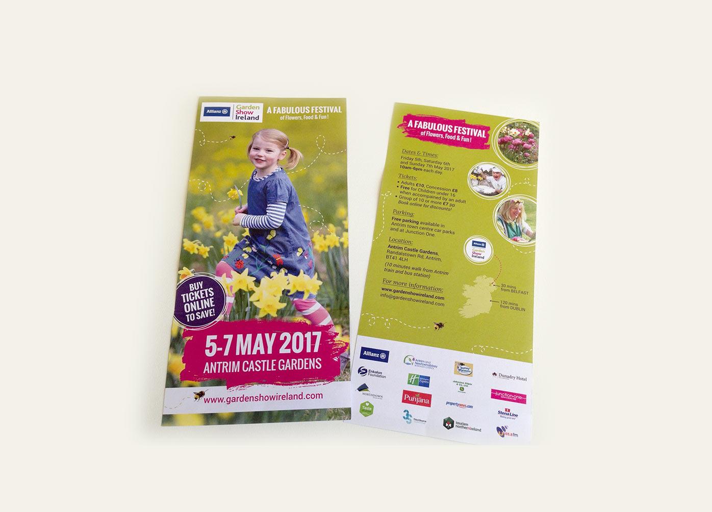 Garden Show Leaflet